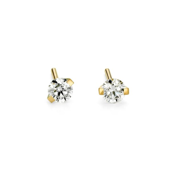 Niessing Ohrstecker PRINCESS 750/- Classic Yellow  0,16Tw/Vs2