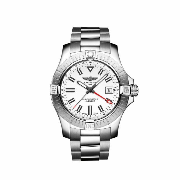 BREITLING AVENGER AUTOMATIC GMT 43 A32397101A1A1